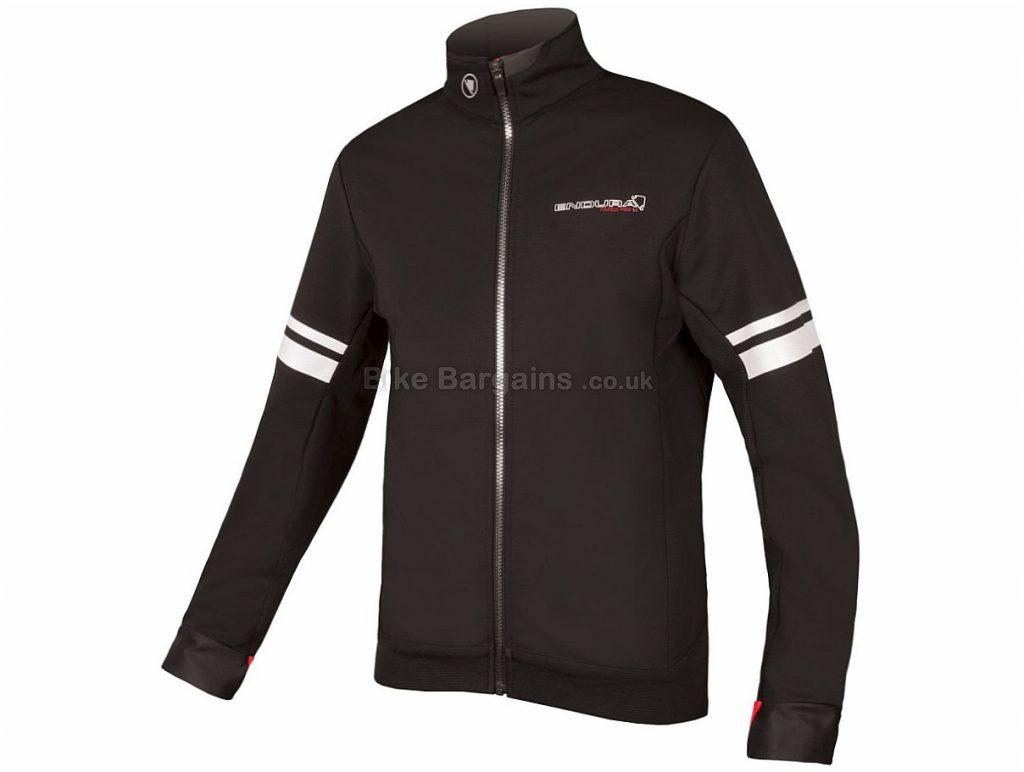 Endura FS260-Pro Thermal Windproof Jacket 2017 S, Red, Long Sleeve