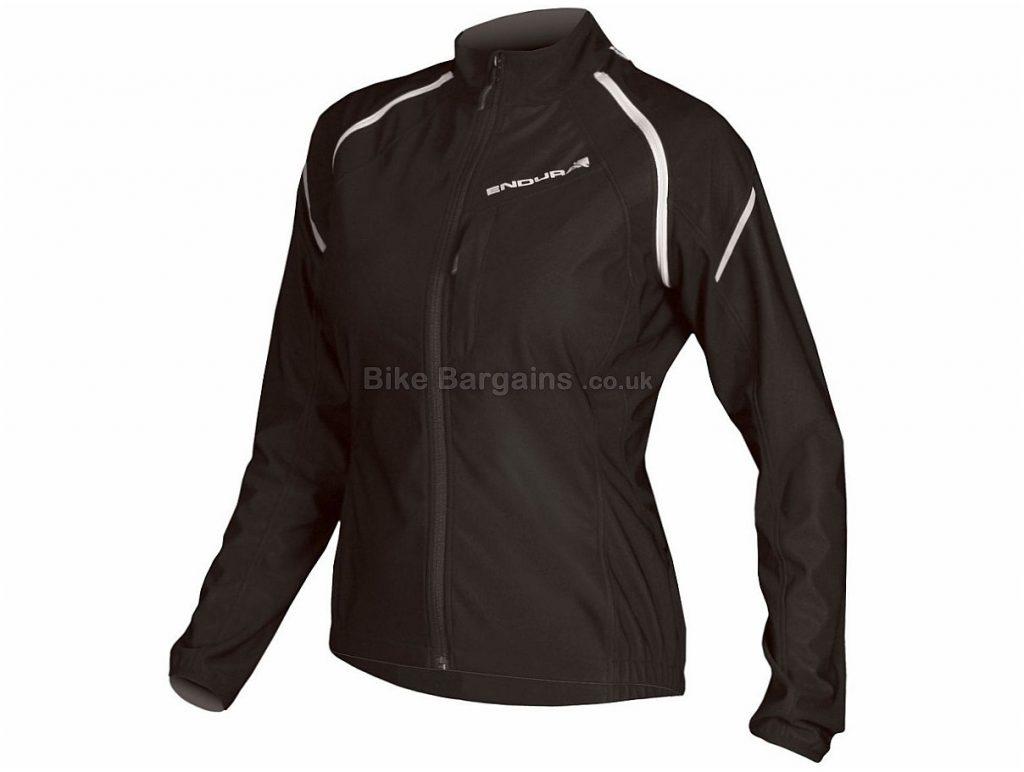 Endura Ladies Convert Softshell Jacket 2017 XS,M,L, Black, Purple, Long Sleeve