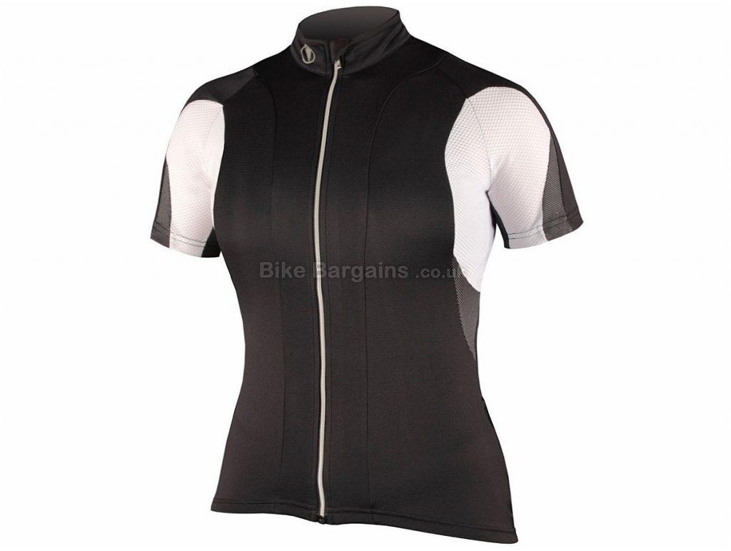 Endura Ladies FS260 Pro Short Sleeve Jersey 2015 XS,L,XL, Red, White, Short Sleeve