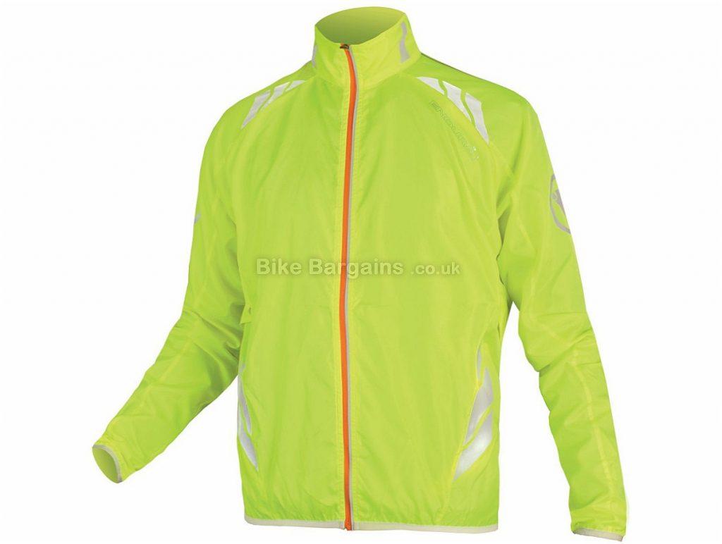Endura Lumijak Jacket 2017 XXL, Yellow, Long Sleeve, Windproof