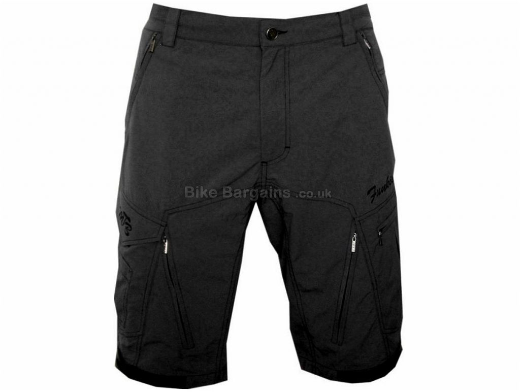 Funkier Baggy MTB Shorts XXXL, Grey, Black