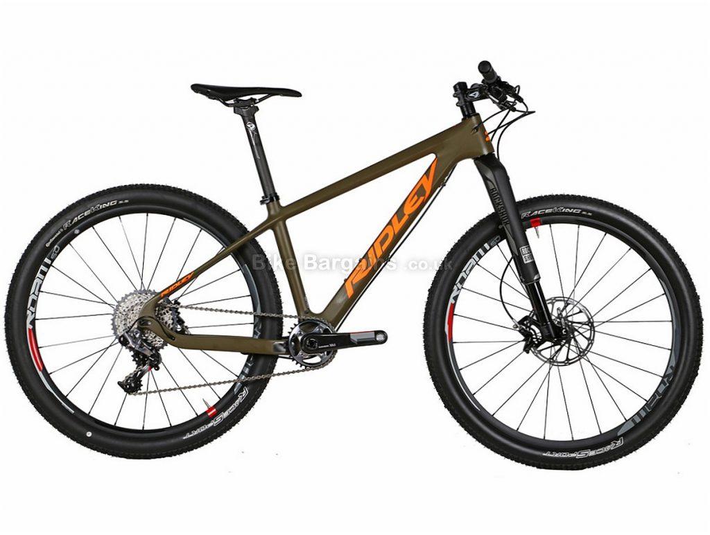 "Ridley Ignite CSL XX1 Carbon Hardtail Mountain Bike 2016 S, 27.5"", M, 29"", Carbon, Hardtail, 11 speed, White, Red, Green, Orange"