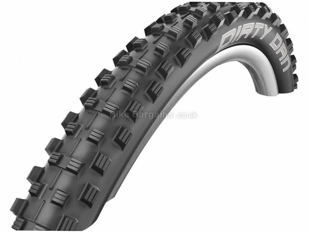 "Schwalbe Dirty Dan Evo LiteSkin 26 Folding MTB Tyre 26"", 2.0"", Black, Folding"