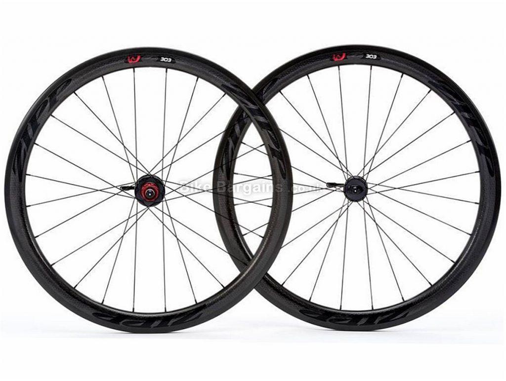 Zipp 303 FireCrest V1 Carbon Tubular Disc Road Wheels 700c, Black, Disc, 6 bolt, 11 Speed, Shimano, SRAM, Tubular, 1435g