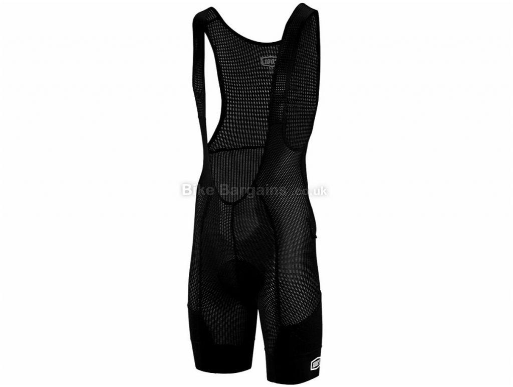 100% Revenant Liner Bib Shorts S,M,L,XL, Black