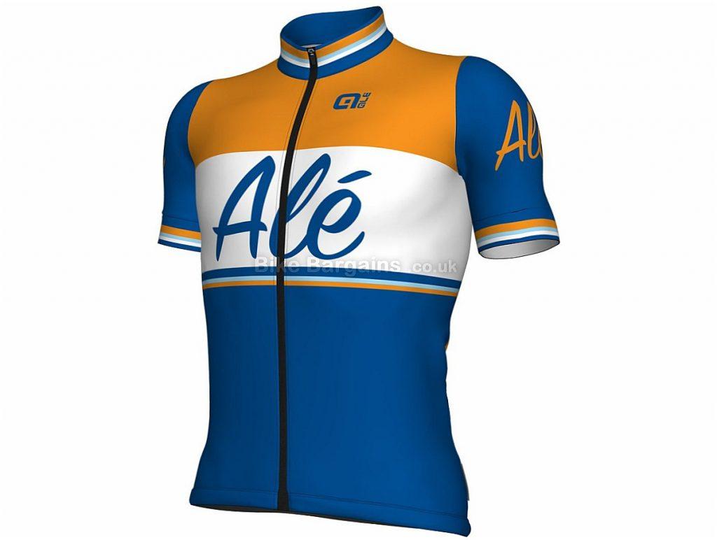 Ale Classic Impavida Short Sleeve Jersey 2018 M, Blue, Orange, White, Short Sleeve