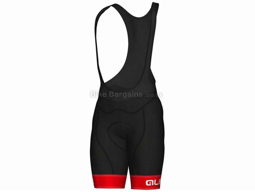 Ale Graphics PRR Sella Bib Shorts 2018 XL, Black, Turquoise