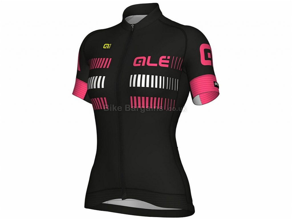 Ale Ladies Graphics PRR Strada Short Sleeve Jersey 2018 XS,S,M,L,XL, Blue, Pink, Short Sleeves