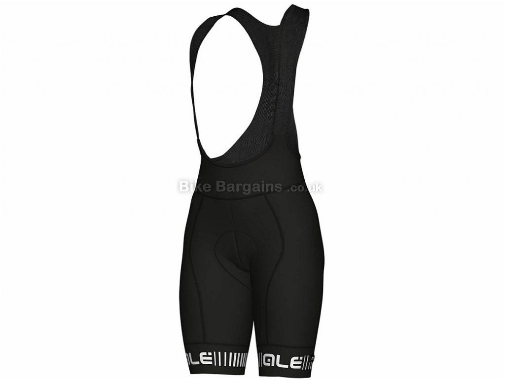 Ale Ladies Strada Bib Shorts L, Black