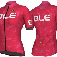 Ale Solid Cracle Ladies Short Sleeve Jersey 2018