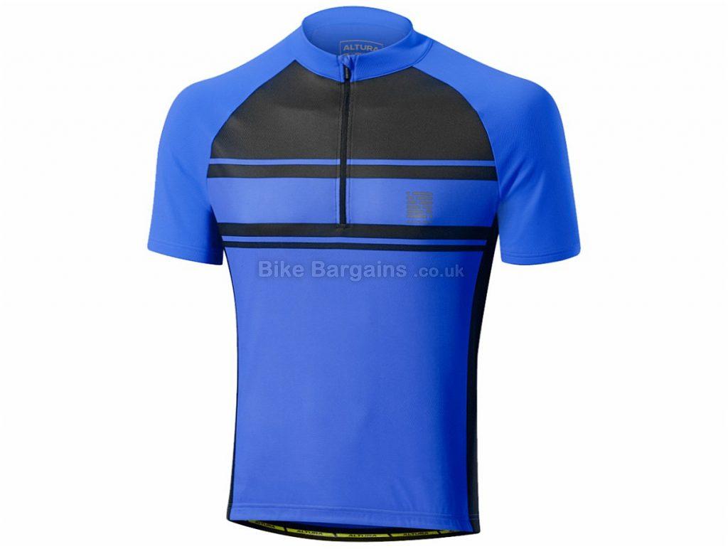 Altura Ascent 2 Short Sleeve Jersey 2017 S,XXL, Blue, Red, Short Sleeve