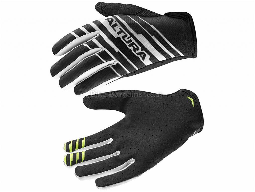 Altura One80 G2 Full Finger Gloves 2017 S, Red, Black, White, Full Finger, Nylon