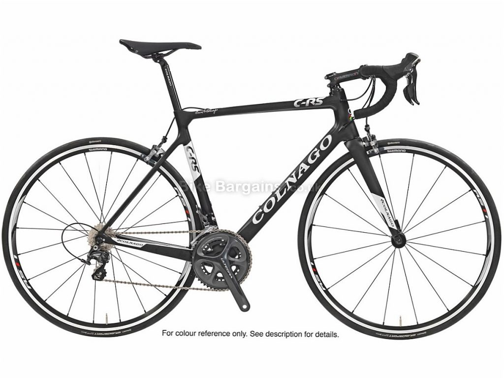 Colnago CRS 105 Carbon Road Bike 2018 50cm, Black, White, Carbon, Calipers, 11 speed, 700c