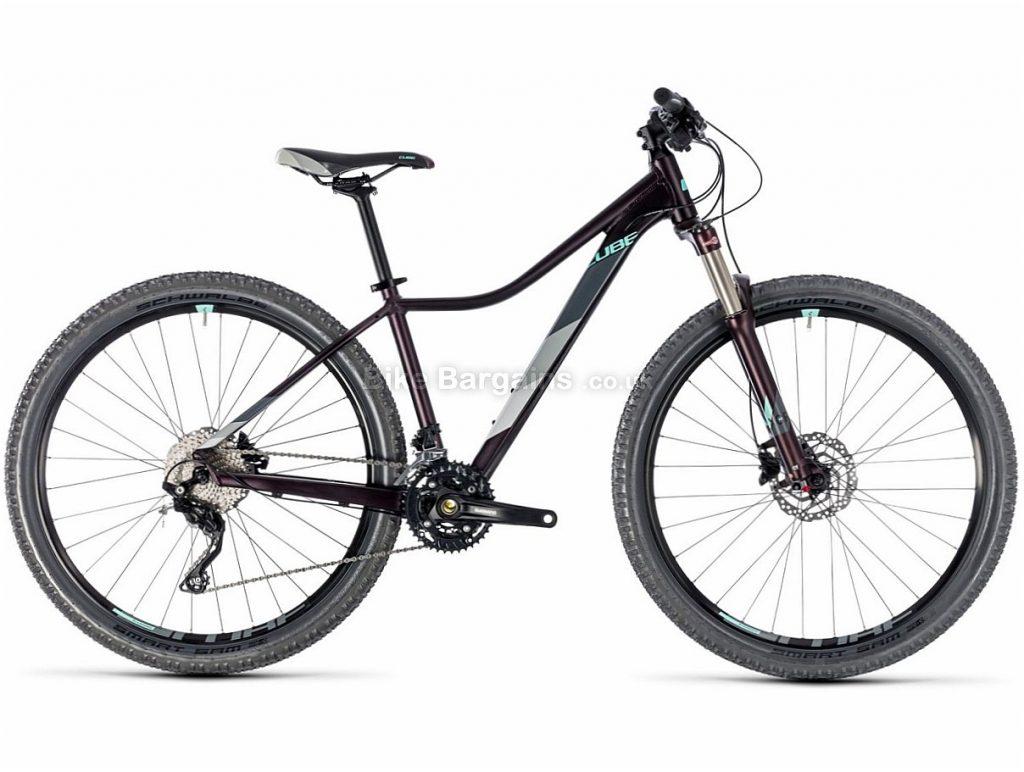 "Cube Access WS Race 27.5"" Deore Alloy Hardtail Mountain Bike 2018 13"", Purple, Alloy, 27.5"", 27 Speed, 13.3kg"