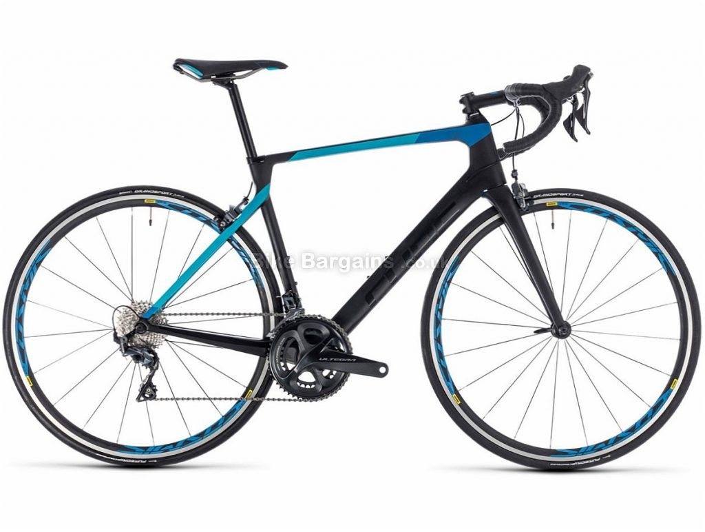 Cube Agree C:62 Pro Ultegra Carbon Road Bike 2018 58cm, Black, Blue, Carbon, 11 speed, Calipers, 700c, 7.9kg