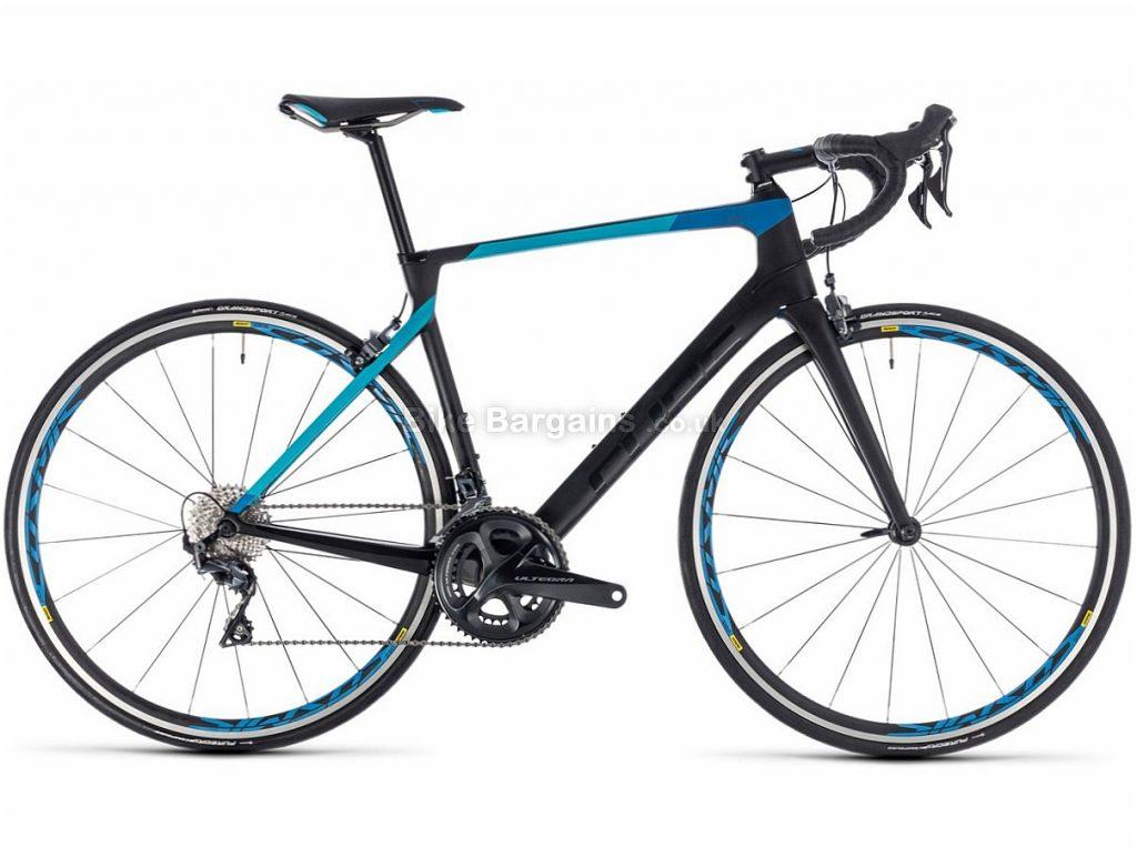 Cube Agree C:62 Pro Ultegra Carbon Road Bike 2018 58cm, Black, Blue, Carbon, 11 speed, Calipers, 700c, 7.9kg