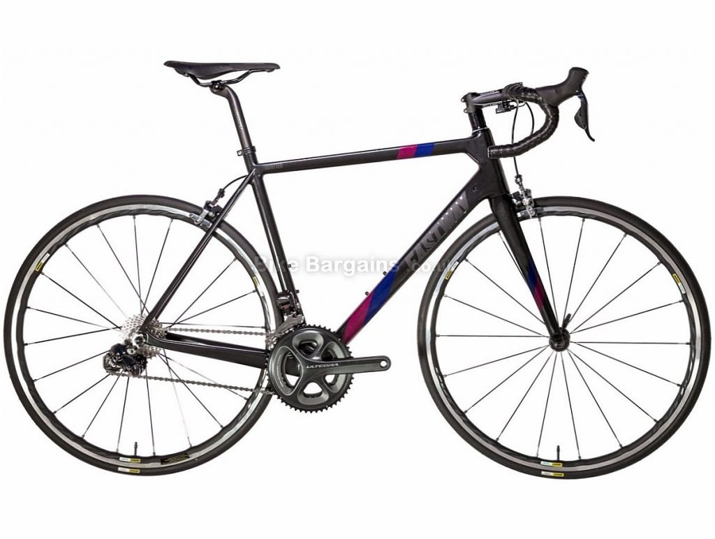 Eastway Emitter R1 Ultegra Di2 Carbon Road Bike 2018 60cm, Black, Blue, Red, Carbon, 11 speed, Calipers, 700c, 7.37kg
