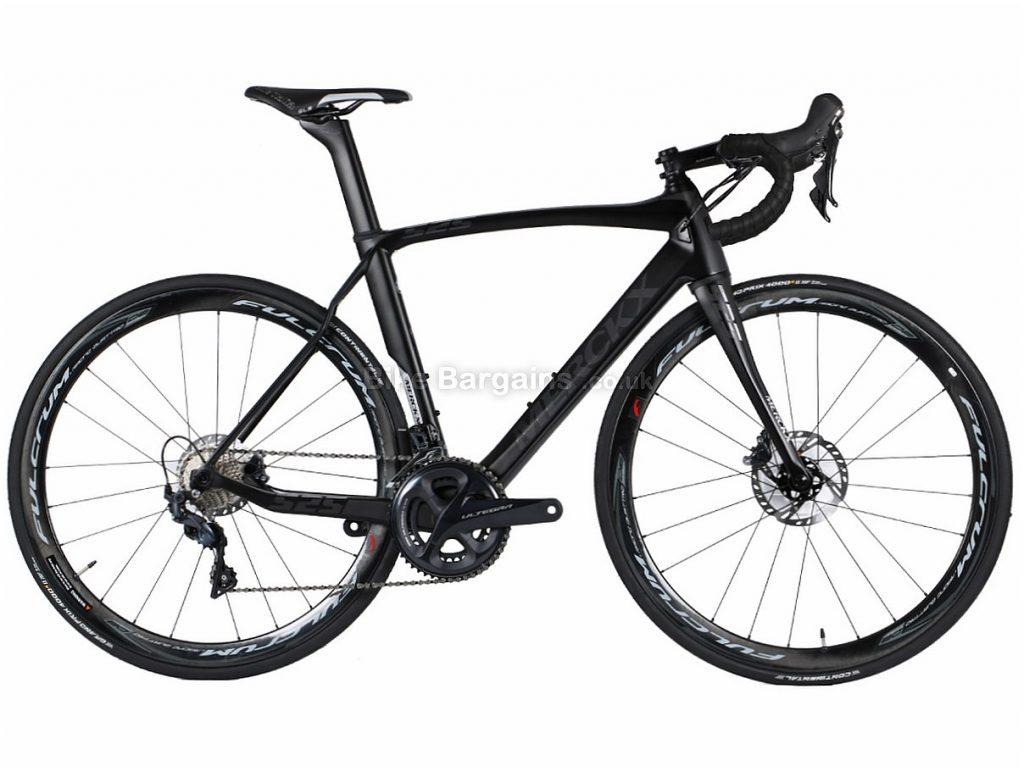 Eddy Merckx EM525 Endurance Disc Ultegra Carbon Road Bike S, Black, Carbon, Disc, 11 speed, 700c