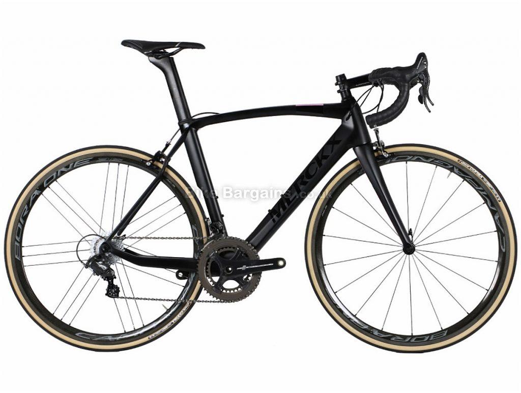 Eddy Merckx EM525 Italia 50 LE Chorus Carbon Road Bike M, Black, Carbon, 11 speed, Calipers, 700c