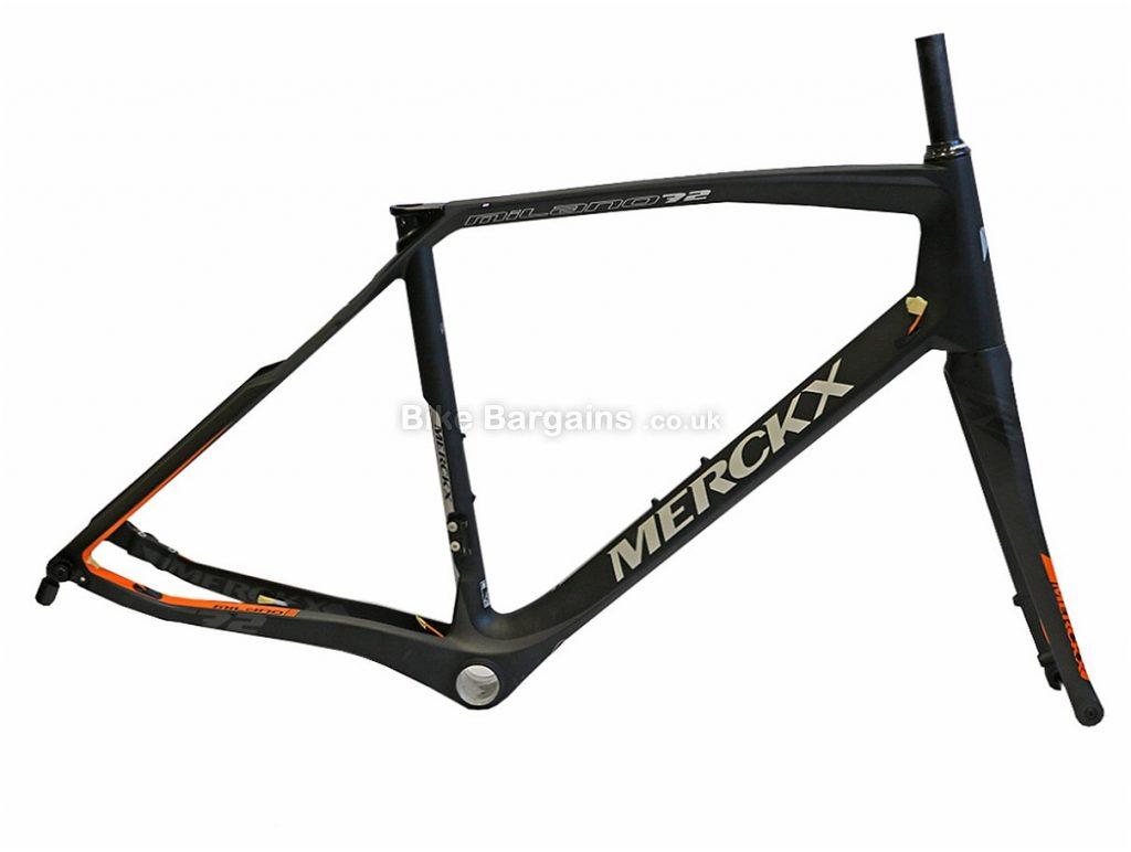 Eddy Merckx Milano 72 Ladies Carbon Disc Road Frameset 2017 M, Black, Carbon, Disc, 1100g
