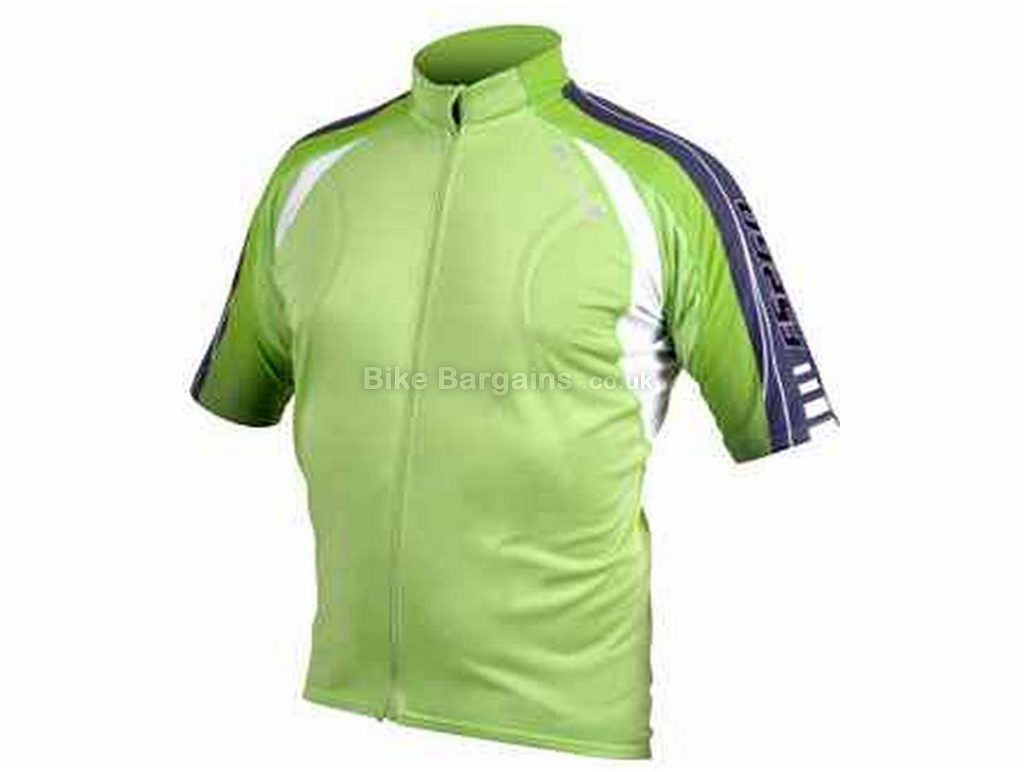 Endura FS260 Pro Lite Short Sleeve Jersey L, Green