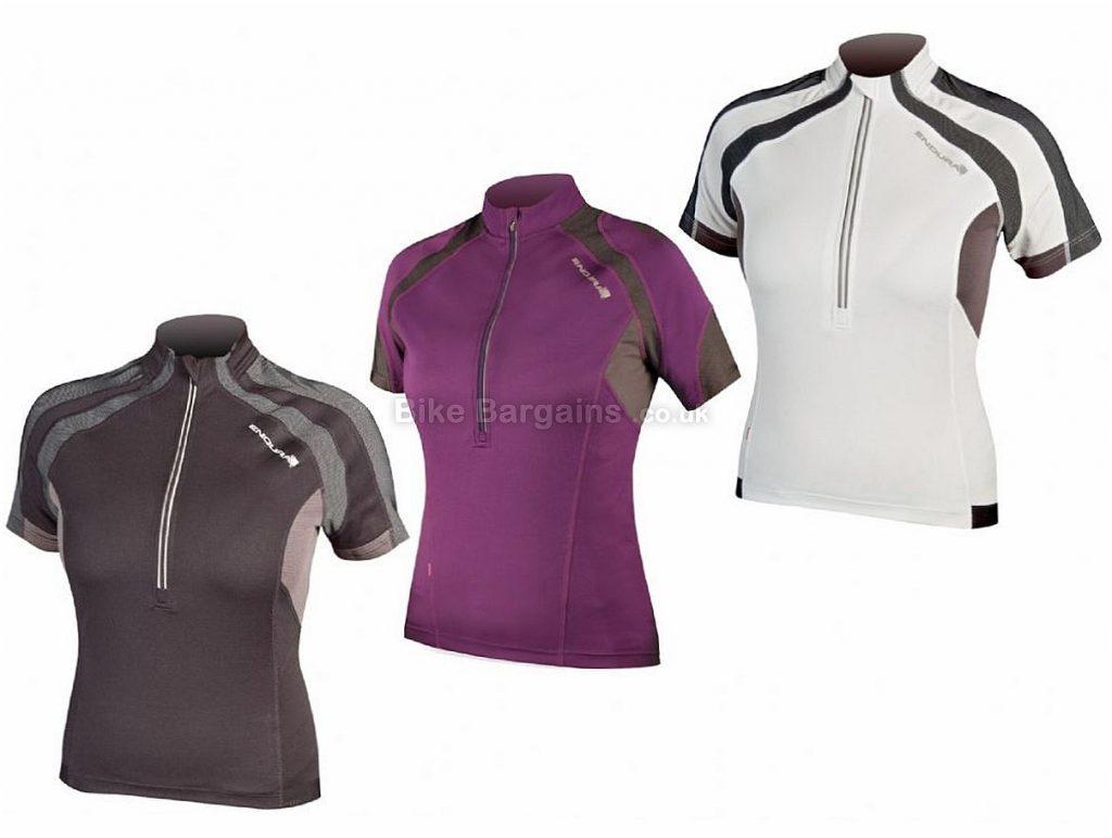 Endura Ladies Hummvee Short Sleeve Jersey 2017 XS,XL, Black, Short Sleeve