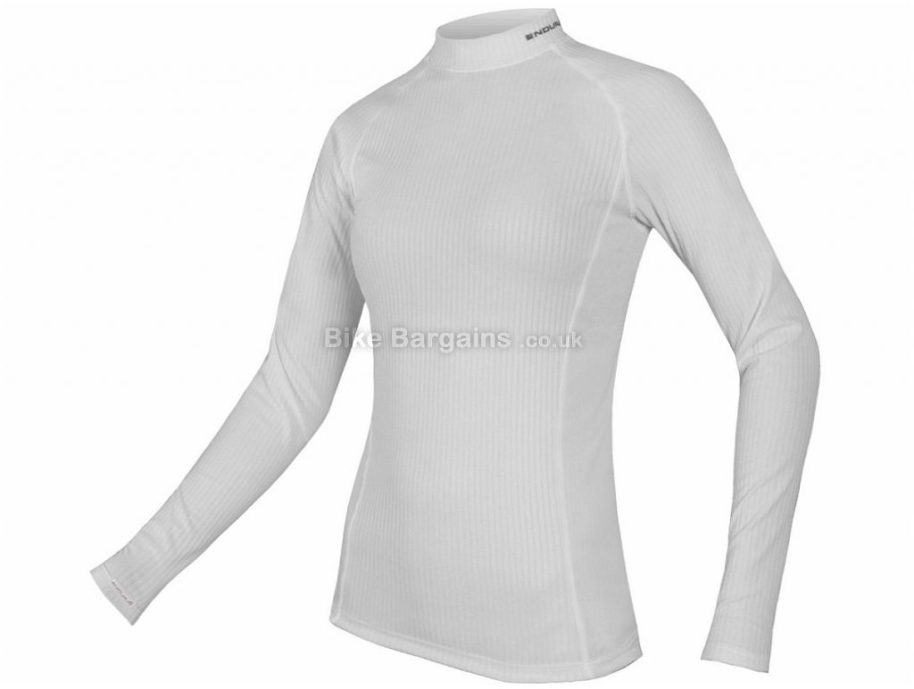 Endura Ladies Transrib Long Sleeve Base layer 2016 XS, White
