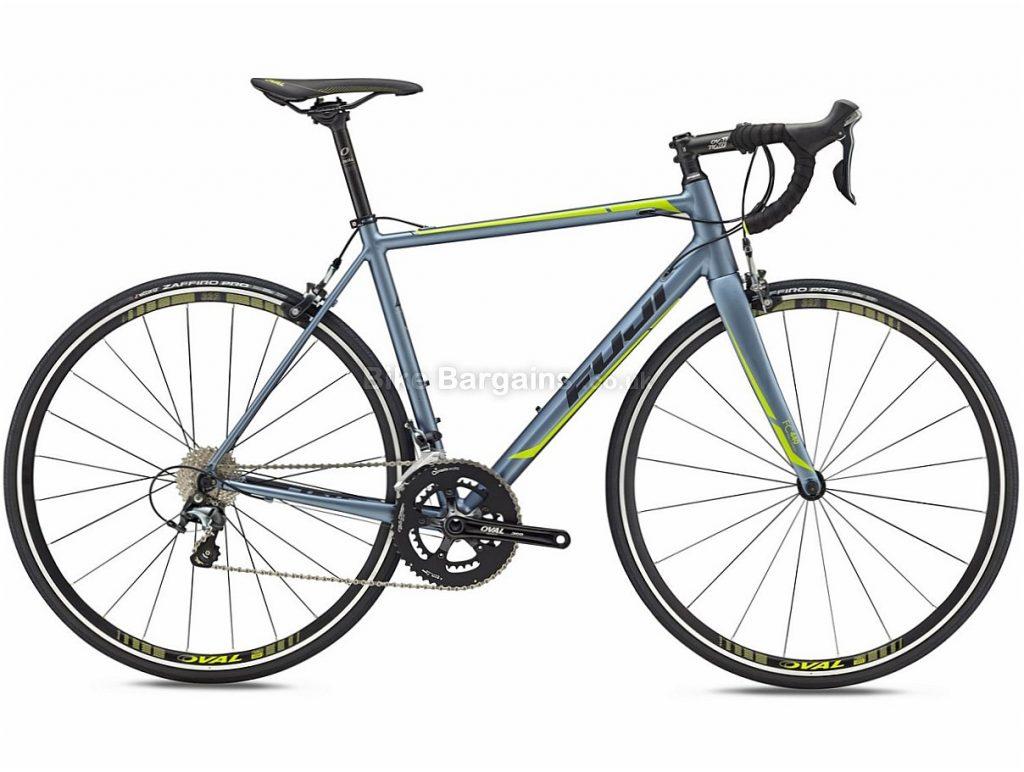 Fuji Roubaix 1.5 Tiagra Alloy Road Bike 2018 49cm, Silver, Alloy, 10 speed, Calipers, 700c, 8.69kg