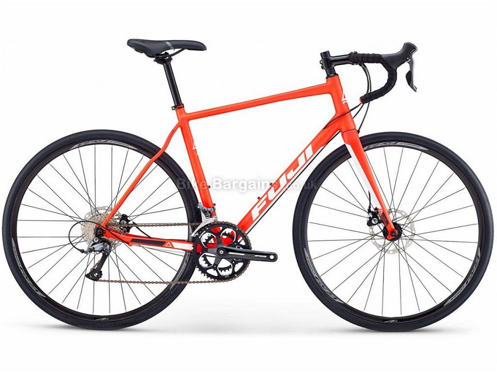 Fuji Sportif 1.9 Disc Claris Alloy Road Bike 2018 49cm, Red, Alloy, Disc, 8 speed, 700c, 10.89kg