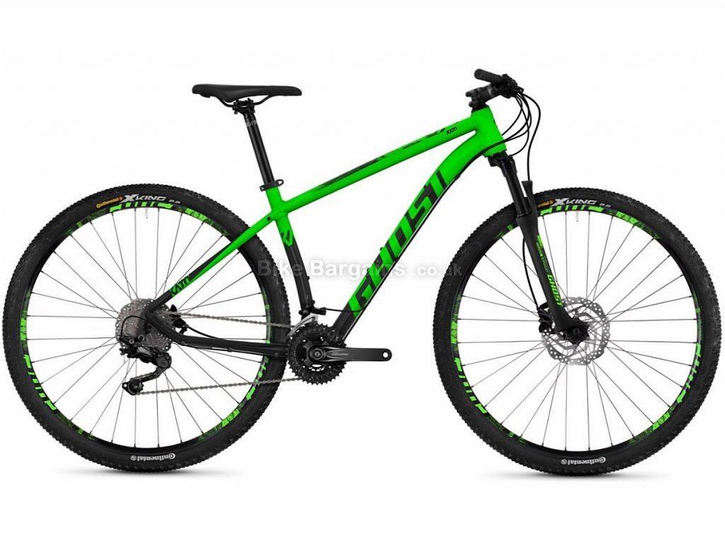 "Ghost Kato 6.9 29"" Deore Alloy Hardtail Mountain Bike 2018 16"", Green, Black, Alloy, 29"", 30 Speed"