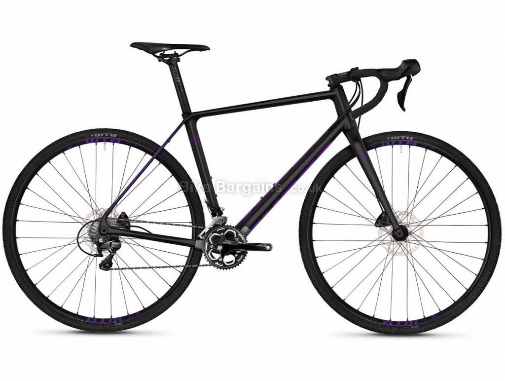 Ghost Violent RoadRage 5.8 Disc Adventure 105 Carbon Road Bike 2018 50cm, Black, Carbon, Disc, 11 speed, 700c
