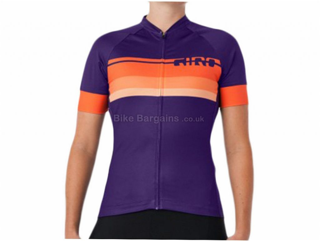 Giro Chrono Expert Ladies Short Sleeve Jersey XS,S,M,L,XL, Black, Pink, Turquoise, Purple, Short Sleeve