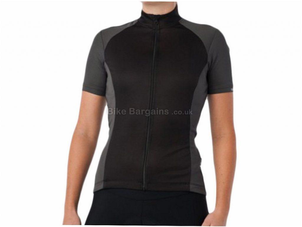 Giro Chrono Sport Ladies Short Sleeve Jersey M,L, Black, Short Sleeve