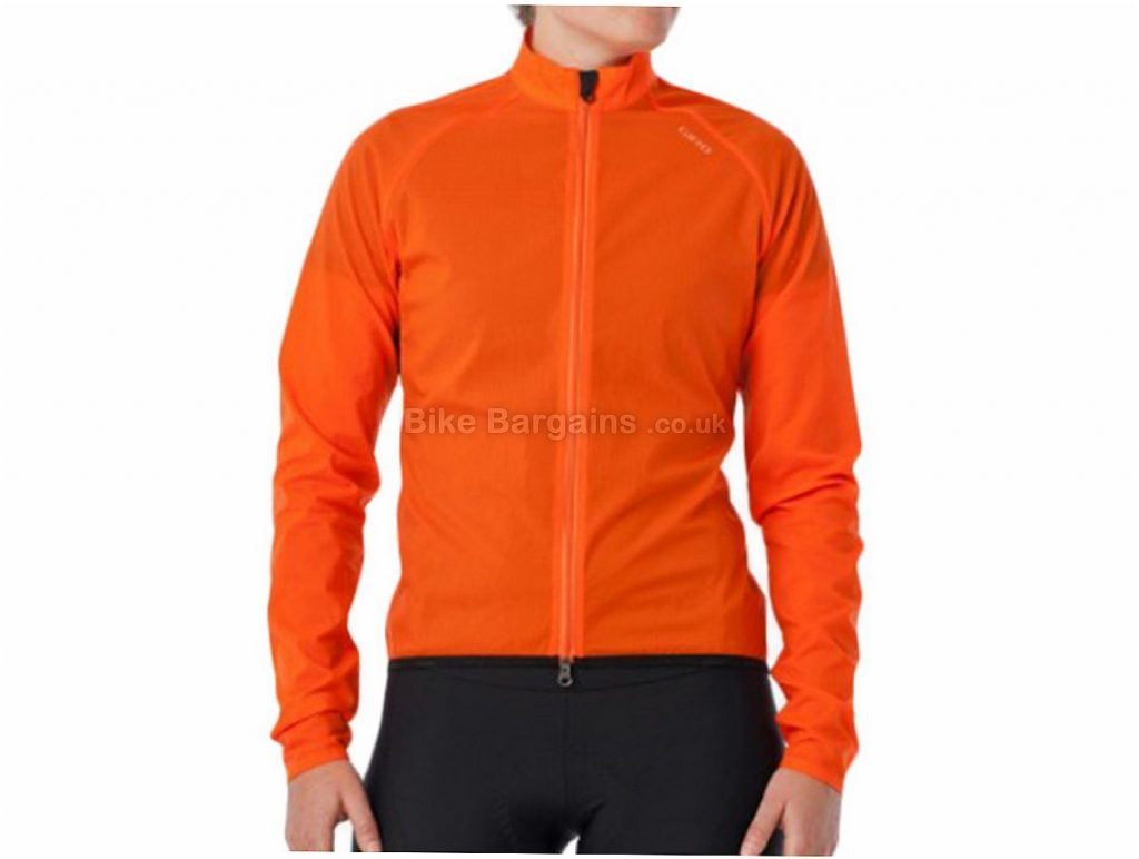 Giro Chrono Wind Ladies Jacket XL, Orange