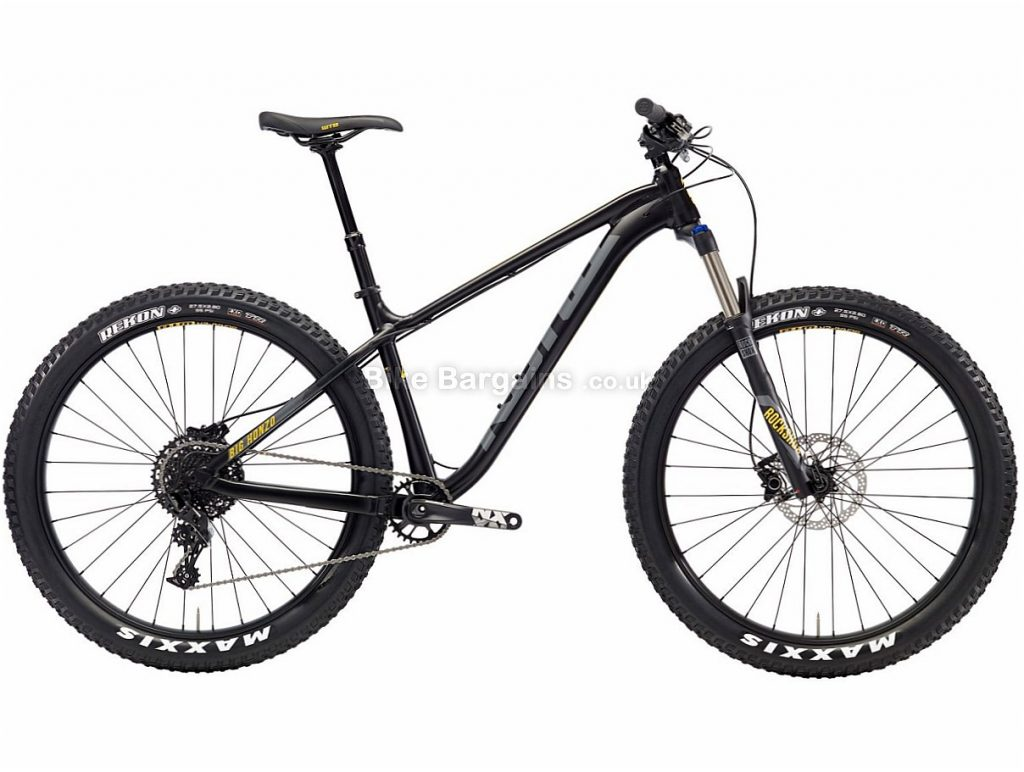 "Kona Big Honzo 27.5"" NX Alloy Hardtail Mountain Bike 2018 L, Black, Alloy, 27.5"", 11 Speed"