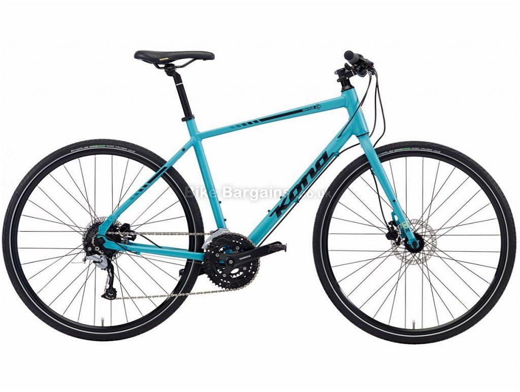 Kona Dew Plus Disc Acera Alloy Road Bike 2018 55cm, Turquoise, Alloy, Disc, 9 speed, 700c