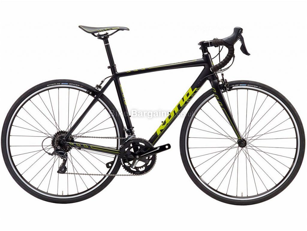 Kona Esatto Sora Alloy Road Bike 2017 49cm, Black, Green, Alloy, Calipers, 9 speed, 700c