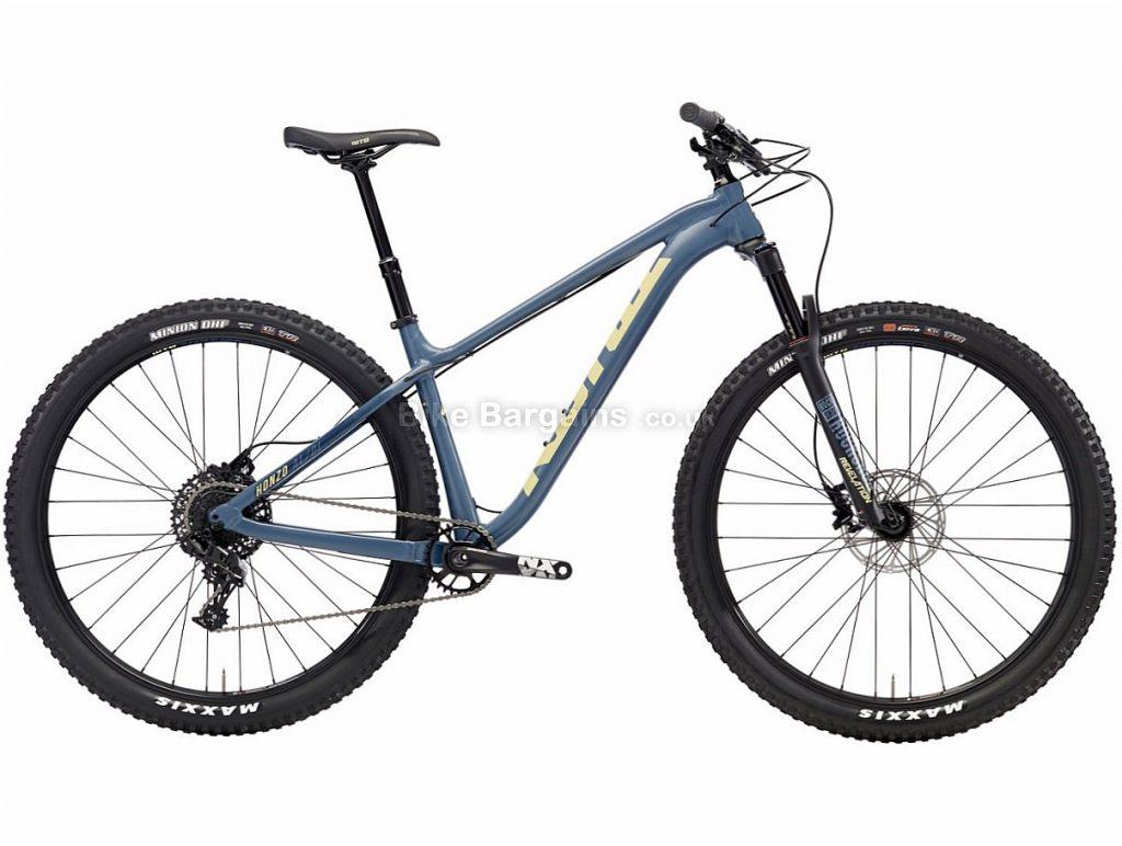 "Kona Honzo AL/DL 29"" NX Alloy Hardtail Mountain Bike 2018 S, Blue, Alloy, 29"", 11 Speed"