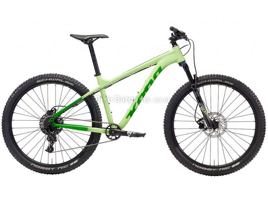 "Kona Mohala Ladies 27.5"" NX Alloy Hardtail Mountain Bike 2018 18"", Black, Green, Alloy, 27.5"", 11 Speed"