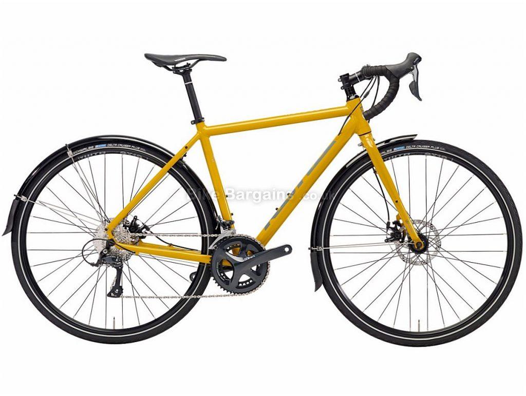 Kona Rove DL Disc Sora Alloy Adventure Cyclocross Bike 2018 52cm, Yellow, Alloy, 700c, 18 Speed