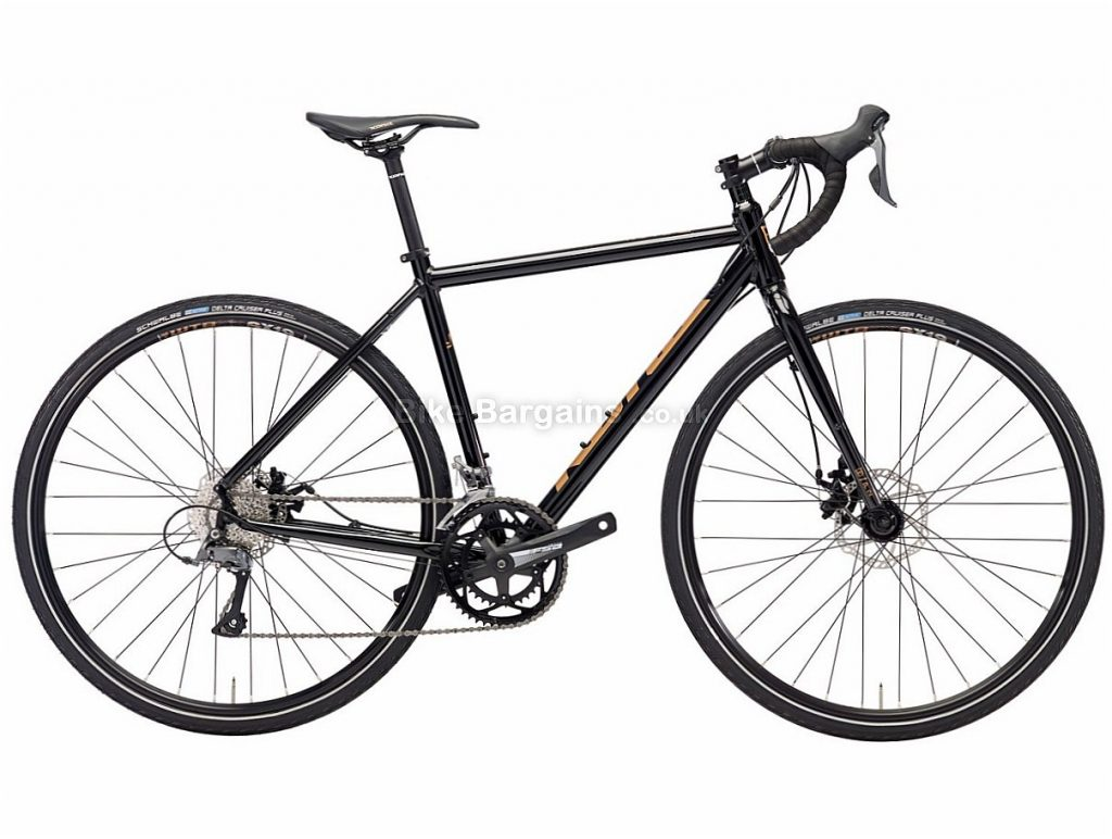 Kona Rove Disc Claris Alloy Adventure Cyclocross Bike 2018 52cm, Black, Alloy, 700c, 16 Speed