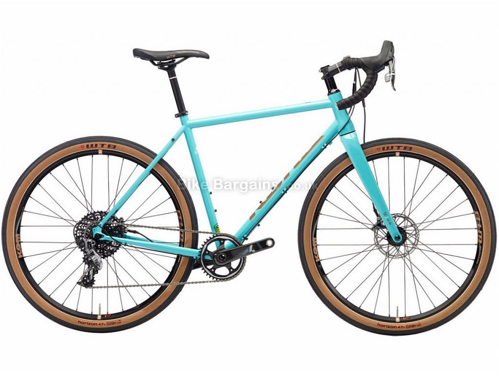 "Kona Rove LTD Disc Force Alloy Adventure Cyclocross Bike 2018 52cm, Blue, Alloy, 27.5"", 22 Speed"