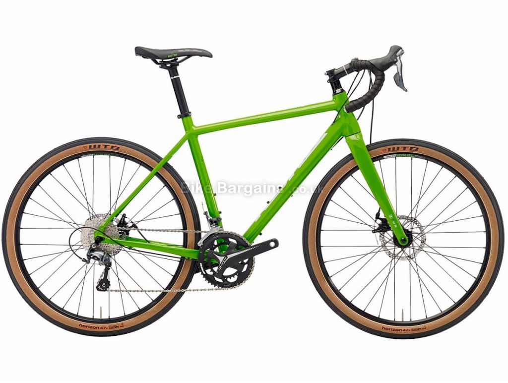 "Kona Rove NRB Disc Tiagra Alloy Adventure Cyclocross Bike 2018 50cm,52cm, Green, Alloy, 27.5"", 20 Speed"