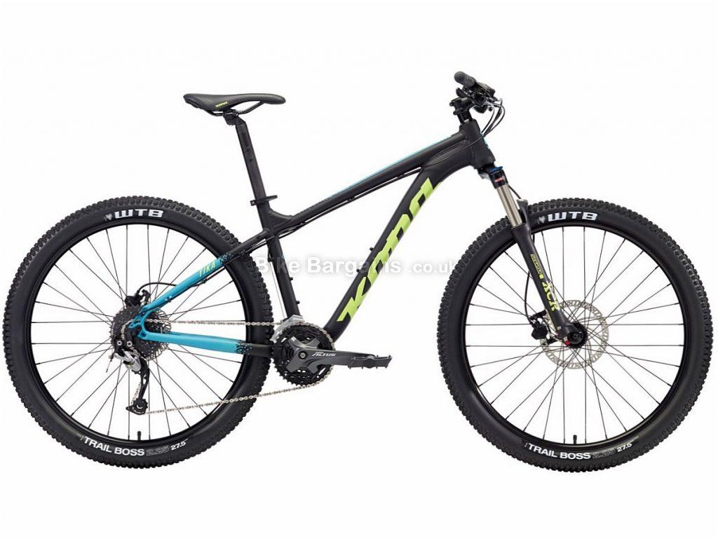 """Kona Tika Ladies 27.5"""" Altus Alloy Hardtail Mountain Bike 2018 L, Black, Alloy, 27.5"""", 27 Speed"""