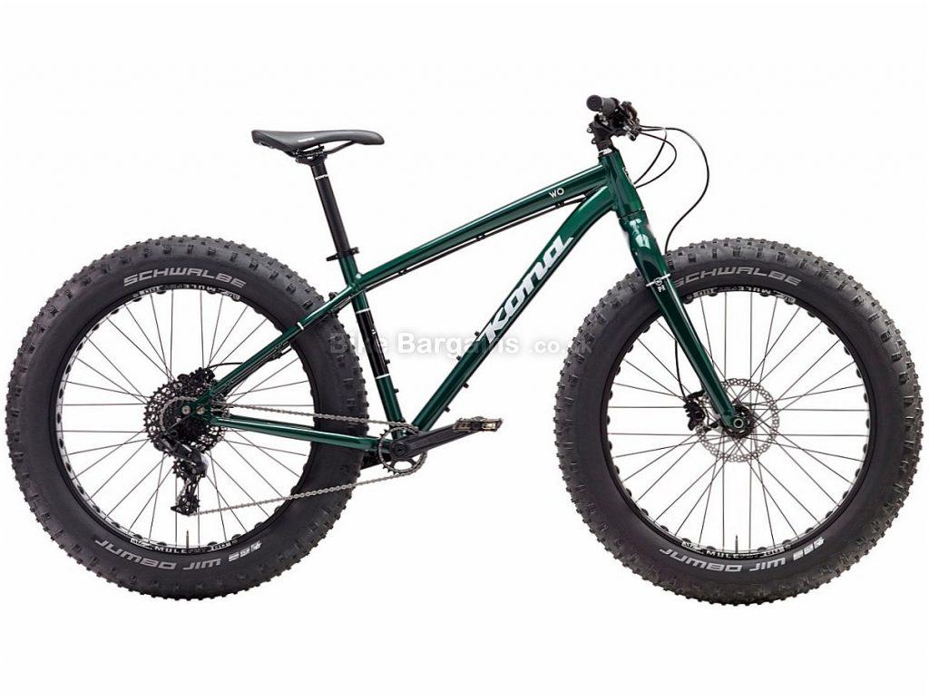 "Kona Wo 26"" NX Alloy Hardtail Mountain Bike 2017 L, Green, Alloy, 26"", 11 Speed"