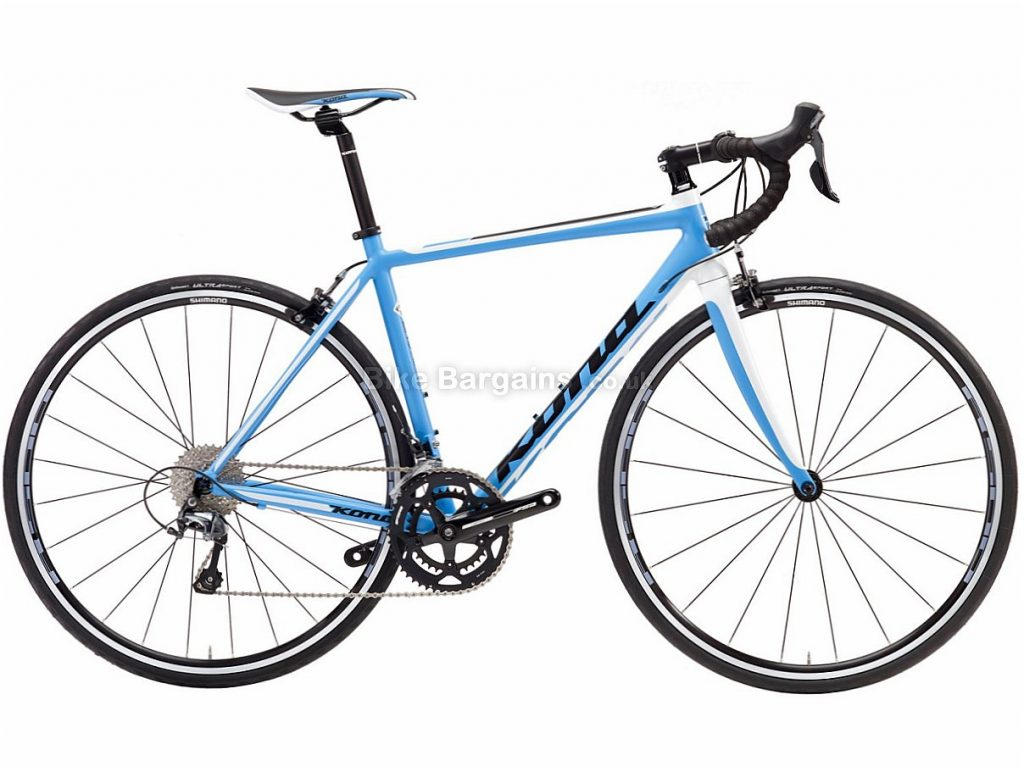 Kona Zing AL Tiagra Alloy Road Bike 2017 59cm, Blue, White, Alloy, Calipers, 10 speed, 700c