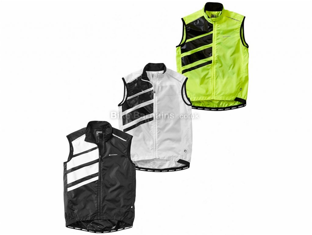 Madison Sportive Race Shell Gilet 2018 XL, White, Sleeveless