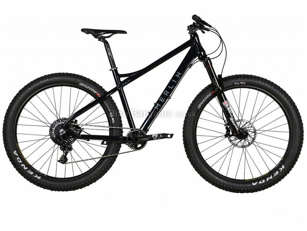 Merlin MALT+ NX1 27.5 Alloy Hardtail Mountain Bike 2018 S,M,L, Black, Grey, Hardtail, Alloy, 11 Speed