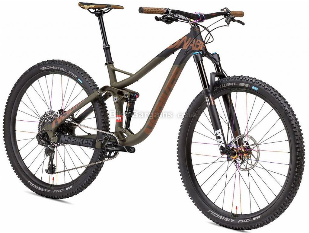 "NS Bikes Snabb 130 Plus 1 29"" GX Eagle Alloy Full Suspension Mountain Bike 2018 15"", Green, Alloy, 29"", 12 Speed, 13.2kg"
