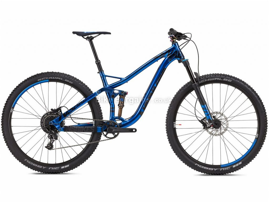 "NS Bikes Snabb 130 Plus 2 29"" NX Alloy Full Suspension Mountain Bike 2018 17"", Blue, Black, Alloy, 29"", 11 Speed, 13.6kg"